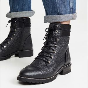 🧜🏼♀️Steve Madden Black Leather Zofie Boots